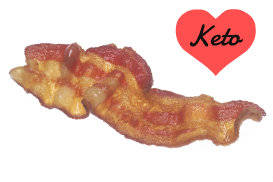 bacon keto ketogenic