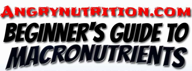 Angrynutrition macronutrients cover