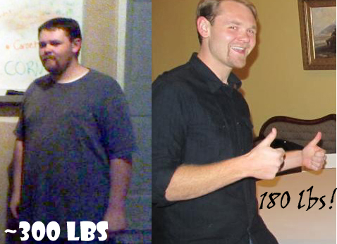 fat thin weight loss 120 pounds