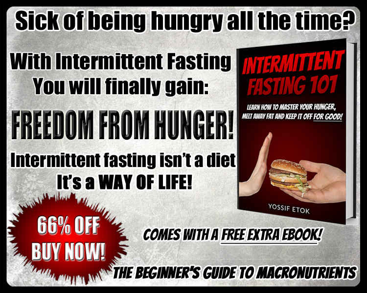 intermittent fasting 101 ebook landing