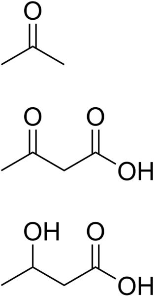 Ketone bodies chemistry