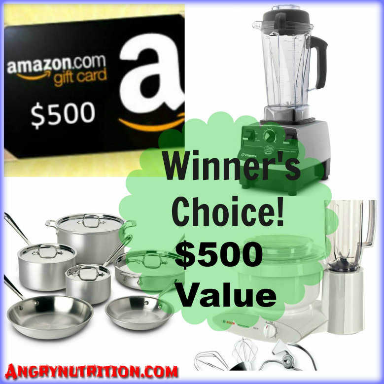 free giveaway contest angrynutrition fasting