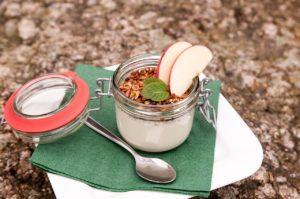 Yogurt, apples, and nuts are boosting immunity.