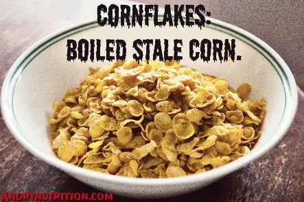 cornflakes stale boiled corn intermittent fasting