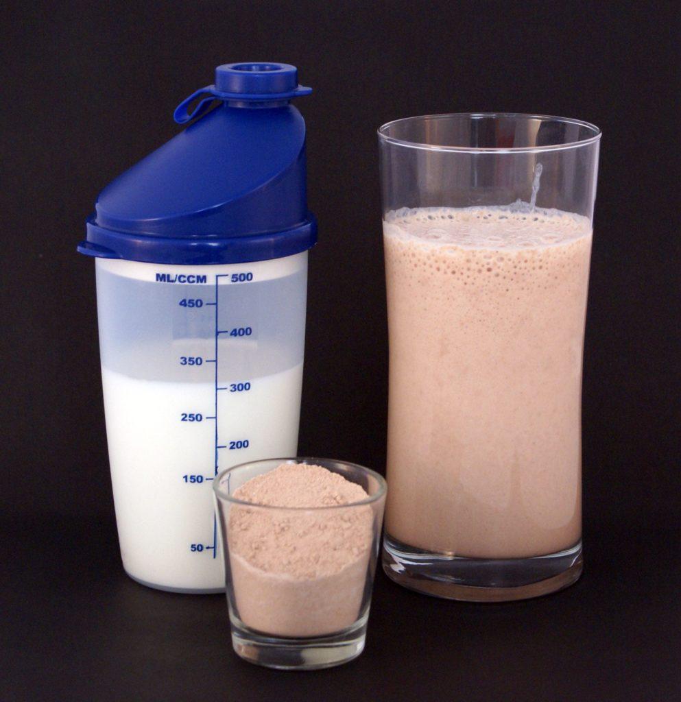 Protein shake post workout